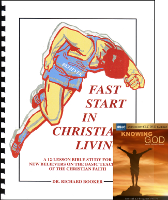 Fast Start Front Cover-Knowing God DVD